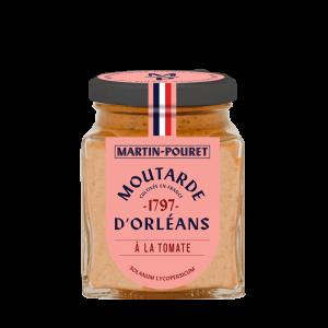 Moutarde d'Orléans à la Tomate 95g Martin Pouret