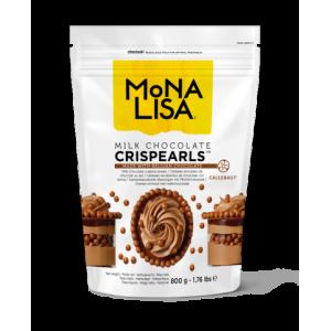 Perles Enrobées de Chocolat au Lait Crispearls 800g Mona Lisa