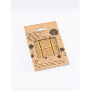 Cubes Cire Abeille pour Emballage Alimentaire (x12) Nuts
