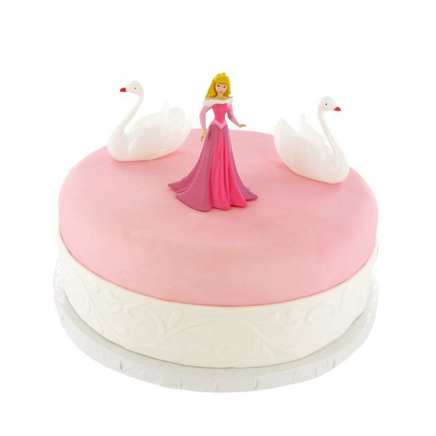 Kit Decor Gateau Princesse Aurore (3 pieces)