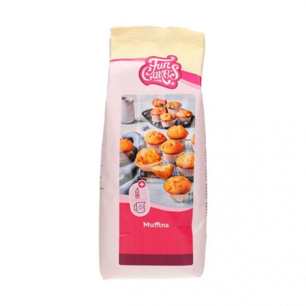 Préparation Muffins nature 1kg Funcakes