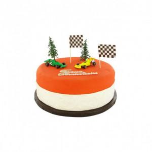Kit Décor Gâteau Formule 1 (7 pièces)