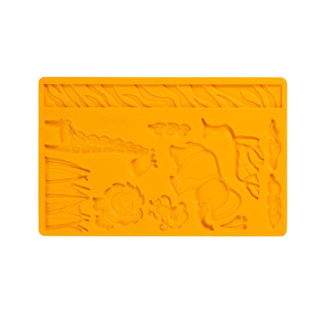 Moule pour Pate a Sucre et Gum Paste Animaux de la Jungle Wilton