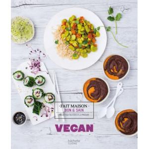 FIN DE SERIE Livre de Recettes Vegan, chez Hachette