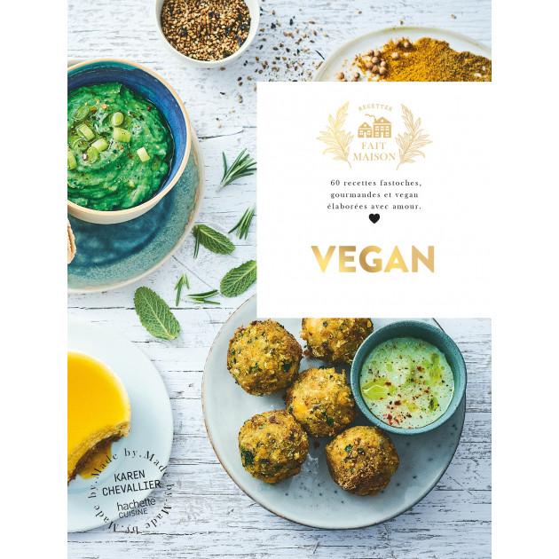 Livre de Recettes Vegan, chez Hachette
