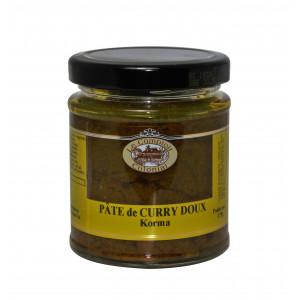 FIN DE SERIE Pâte de Curry Doux Korma 175 g Le Comptoir Colonial