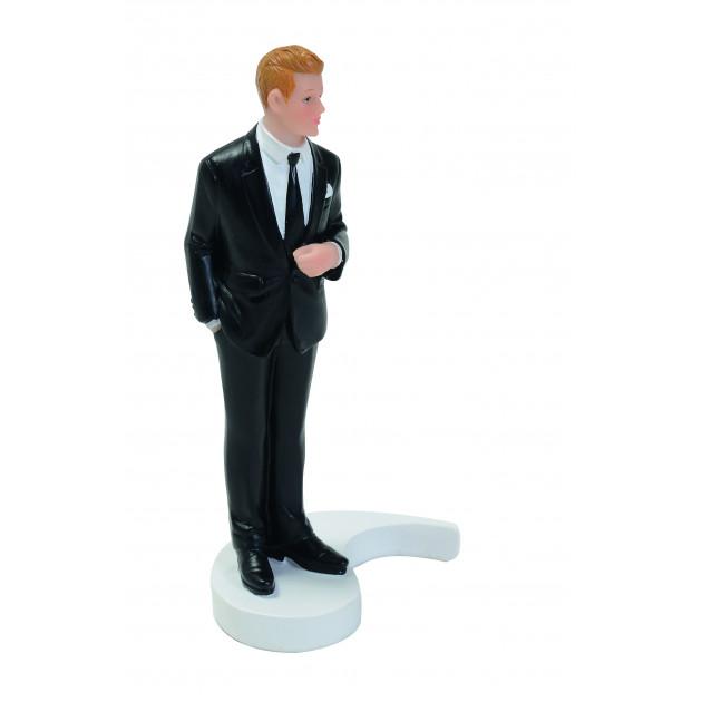 Figurine Mariage Marié Blond 15 cm