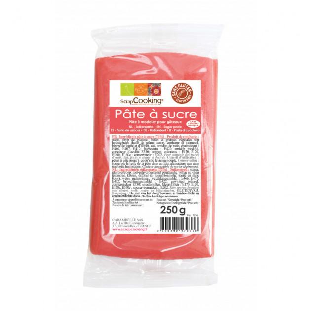 Pâte à Sucre Corail 250g Scrapcooking