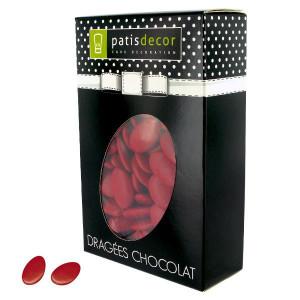 Dragées Chocolat Rouge Cerise 500 g Patisdécor