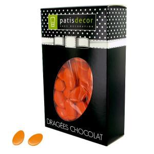 Dragées Chocolat Orange 500 g Patisdécor