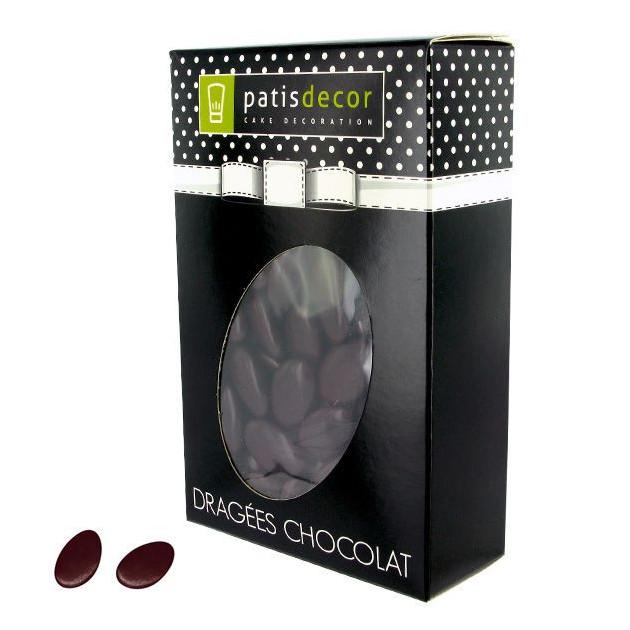 FIN DE SERIE Dragees Chocolat Marron 500 g Patisdecor