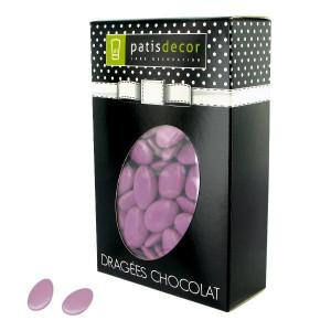 Dragées Chocolat Lilas 500 g Patisdécor