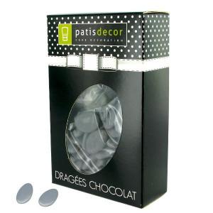 Dragées Chocolat Gris 500 g Patisdécor