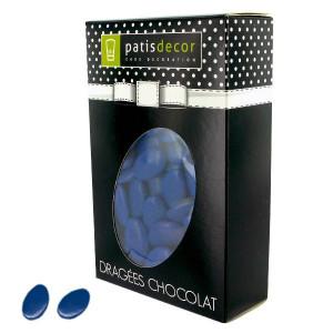 Dragées Chocolat Bleu Roi 500 g Patisdécor
