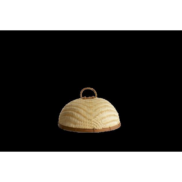 Cloche de Cuisine en Bambou Tressé Ø 30 cm Pebbly