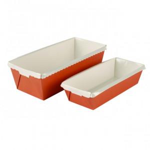 Moule à Cake en Carton 16,5 x 6,5 cm Optima (x30)