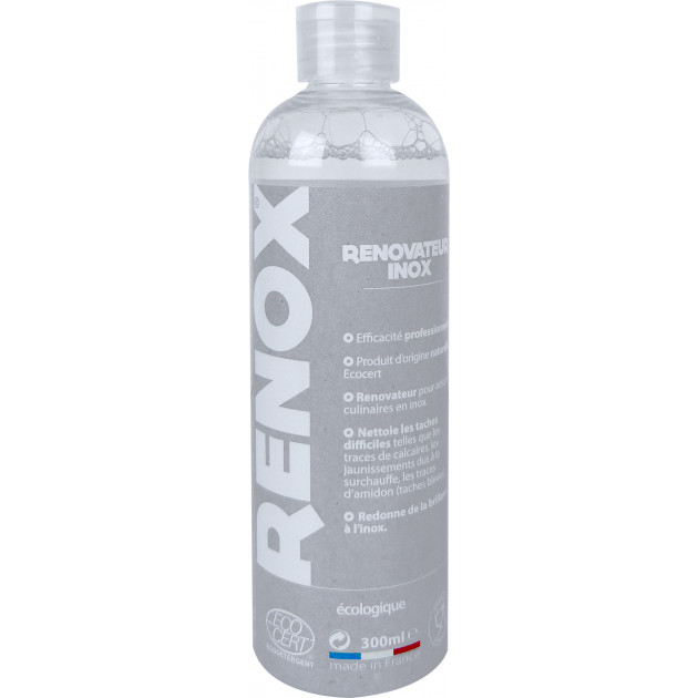 RENOX Nettoyant Inox Ecocert CRISTEL