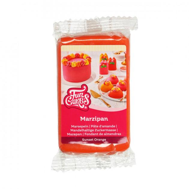 Pate d'amande Orange 20% 250g Funcakes