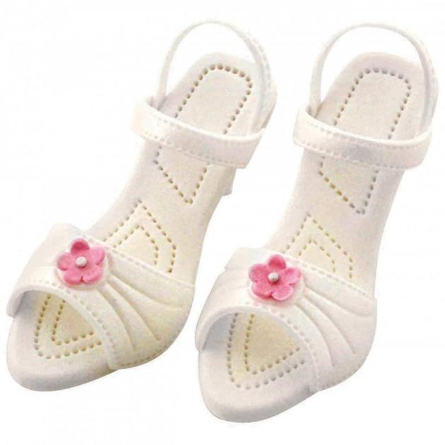 Exemple de realisation avec les emportes-pieces Chaussures