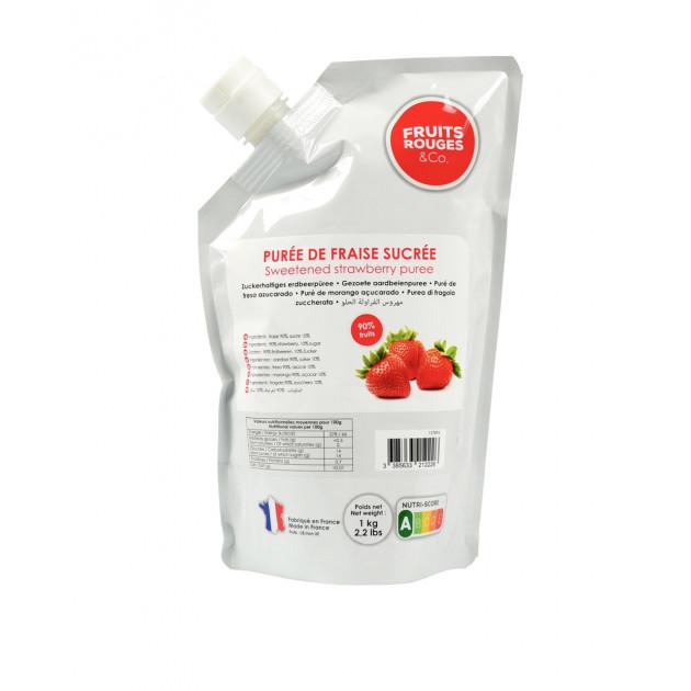 Puree de Fraise 1kg Fruits Rouges & Co