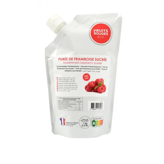 Puree de Framboise 1kg Fruits Rouges & Co