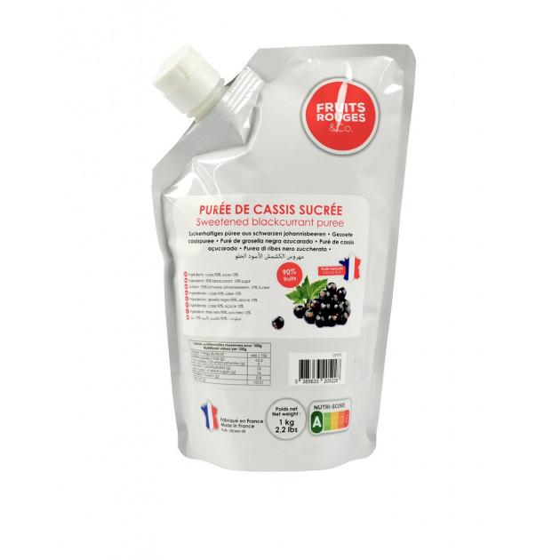 Puree de Cassis 1kg Fruits Rouges & Co