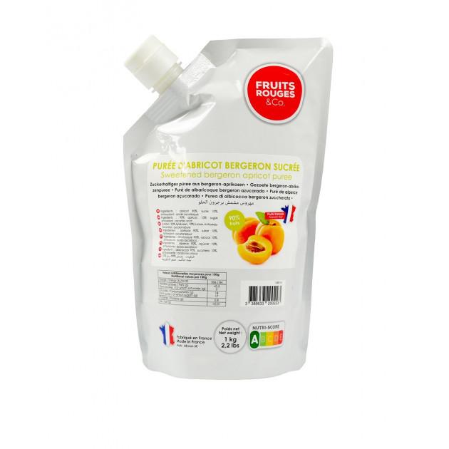 Puree d'Abricot 1kg Fruits Rouges & Co