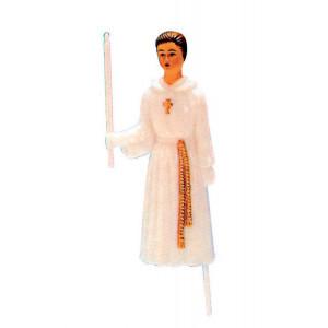 Sujet Communion Garçon sur tige 11,5 cm