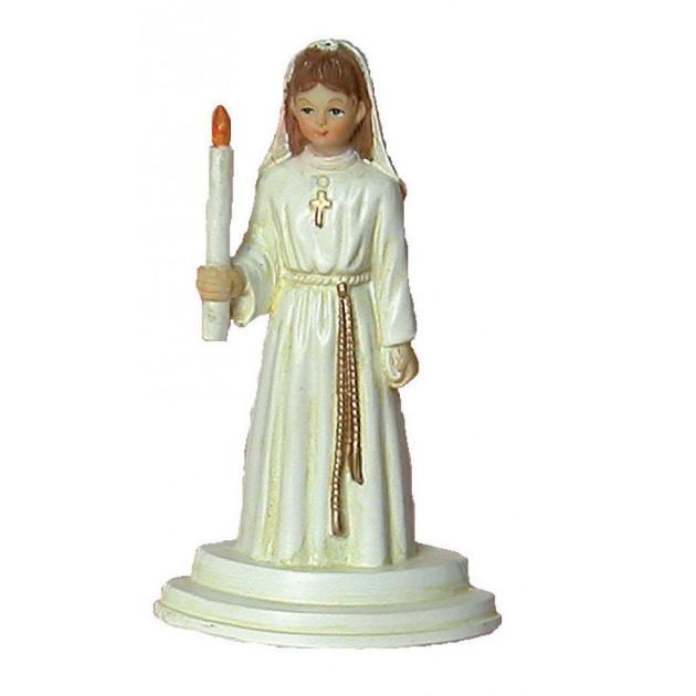 Sujet Communion Fille Aube 10 cm
