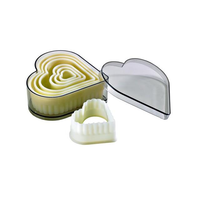 Emporte Piece Coeur Cannele Polyglass (x7)