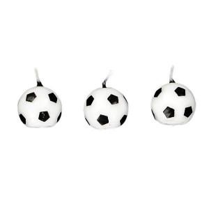 Bougies Ballons de Football (x6) Gatodéco