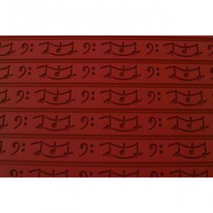 Tapis Relief silicone Musique 30 mm