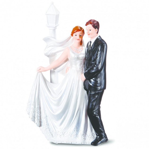 Figurine Mariage Maries Romantique 17.5 cm Modele 2
