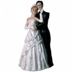 Figurine Mariage Mariés Elégant 15 cm