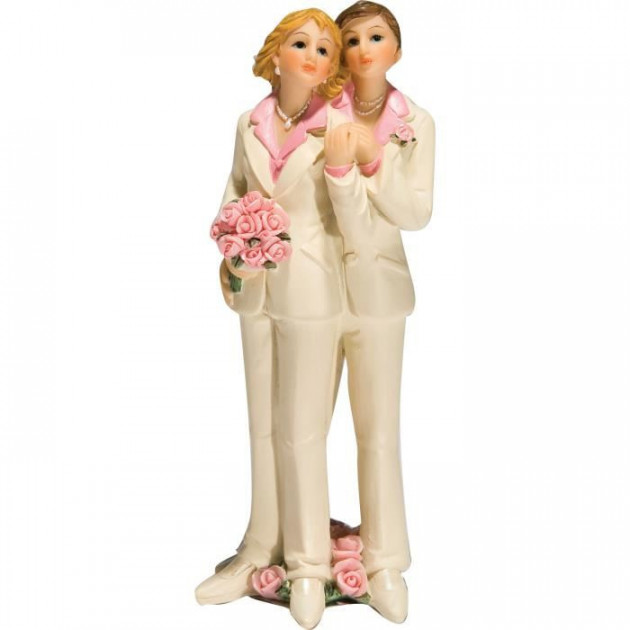 Figurine Mariage Gay 2 Modeles 13 cm