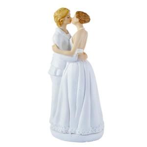 Figurine Mariage Gay Femmes 15 cm