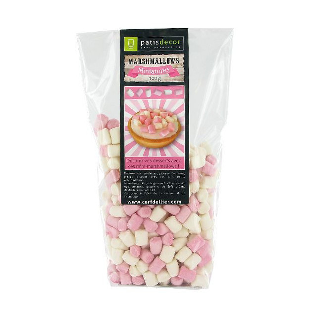 Mini-Marshmallows 100 g Patisdecor