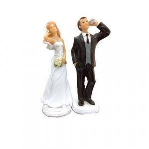 Figurine Mariage Accro au Téléphone 15 cm