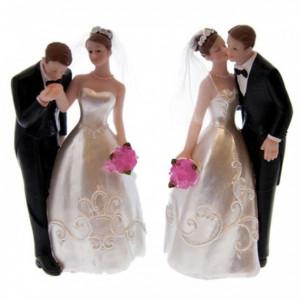 Figurine Mariage Princier 2 Modèles 16,5 cm