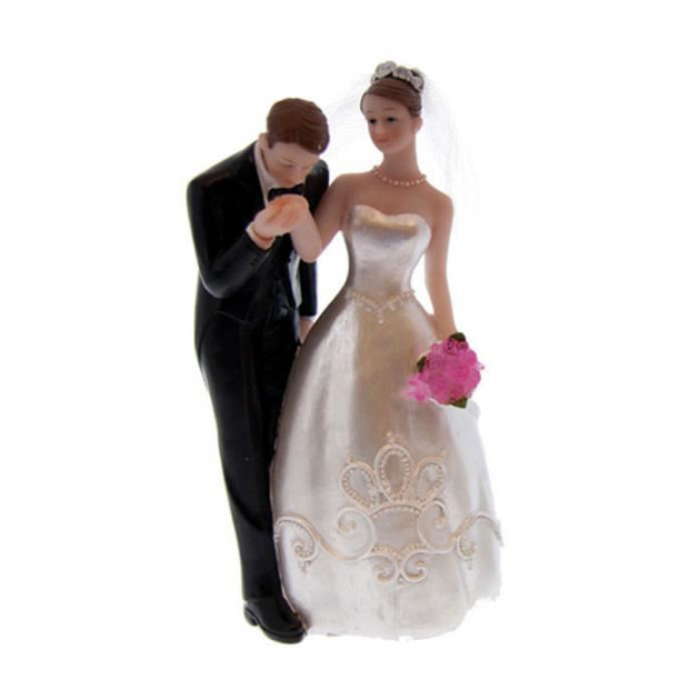 Figurine Mariage Le Baise Main 16.5 cm
