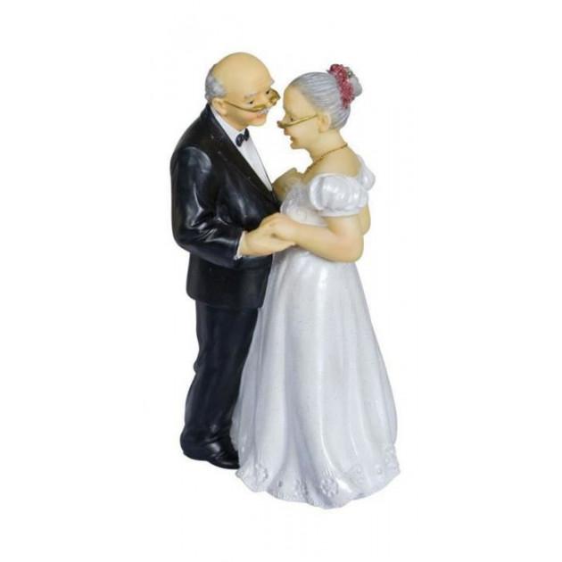 Figurine Mariage Couple Age Anniversaire de mariage  16 cm