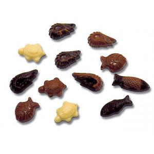 Moule Chocolat Friture de Pâques 35 empreintes