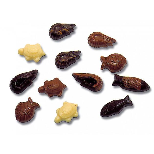 Moule Chocolat Friture de Paques 35 empreintes