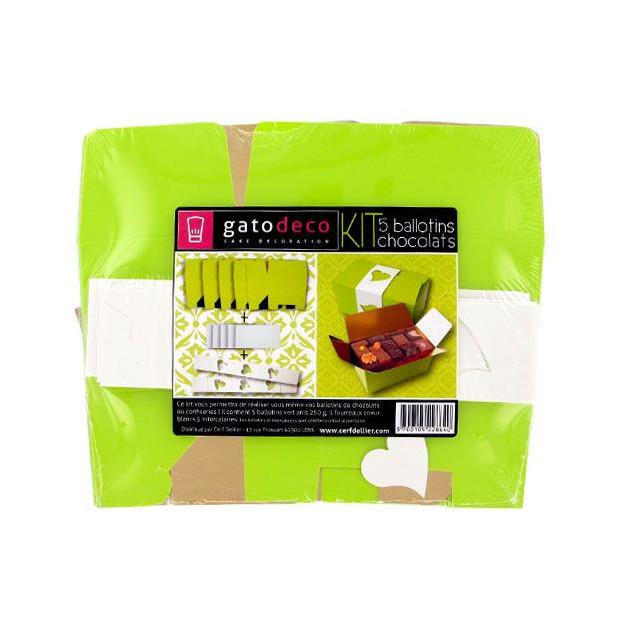 FIN DE SERIE Kit 5 Ballotins Chocolats