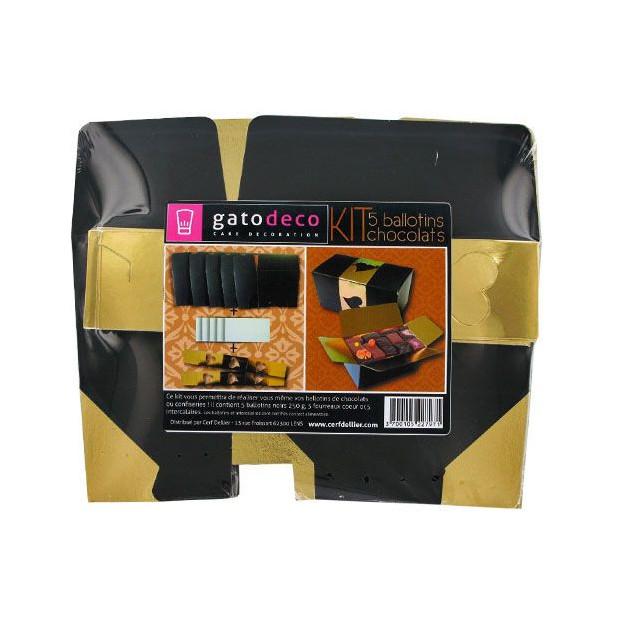 Kit 5 Ballotins Chocolats