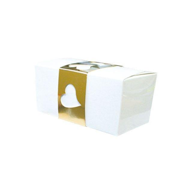 FIN DE SERIE Kit Ballotins Blancs (x5) Gatodeco