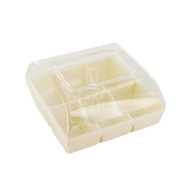 Boîte Blanche pour 6 Macarons Gatodeco