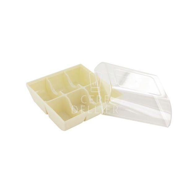 Boîte a Macarons Blanche pour 6 Macarons