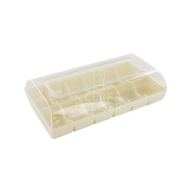 Boîte Blanche pour 12 Macarons Gatodeco