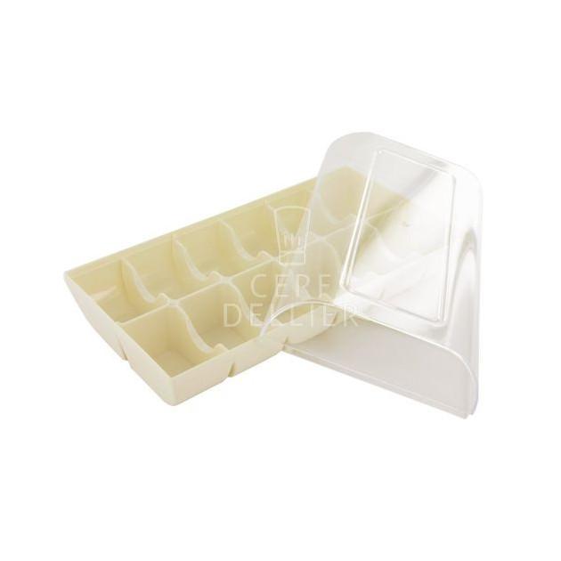 Boîte a Macarons Blanche pour 12 Macarons